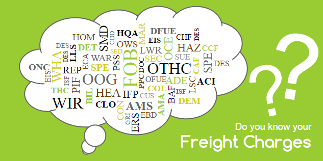Freight Charges Glossary | Freight Filter